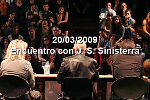 20/03/2009 Encuentro Sinisterra