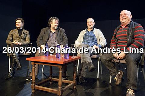 26/03/2014 Charla de Andrés Lima