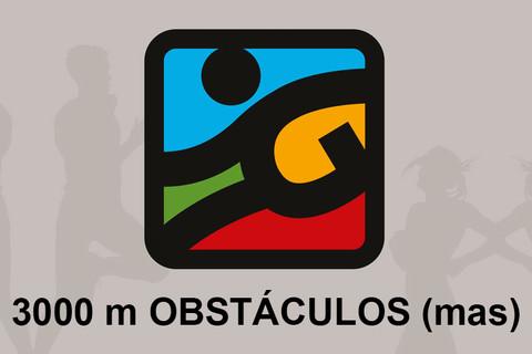 3000 m OBSTÁCULOS (masc)
